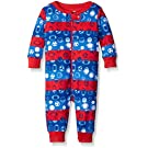The Children's Place Baby Sports Theme Sleep Strethie, Sail Red, 3-6 Months