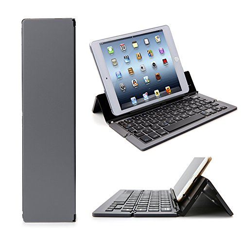 Foldable Bluetooth Keyboard, iEGrow F18 Universal Portabl...