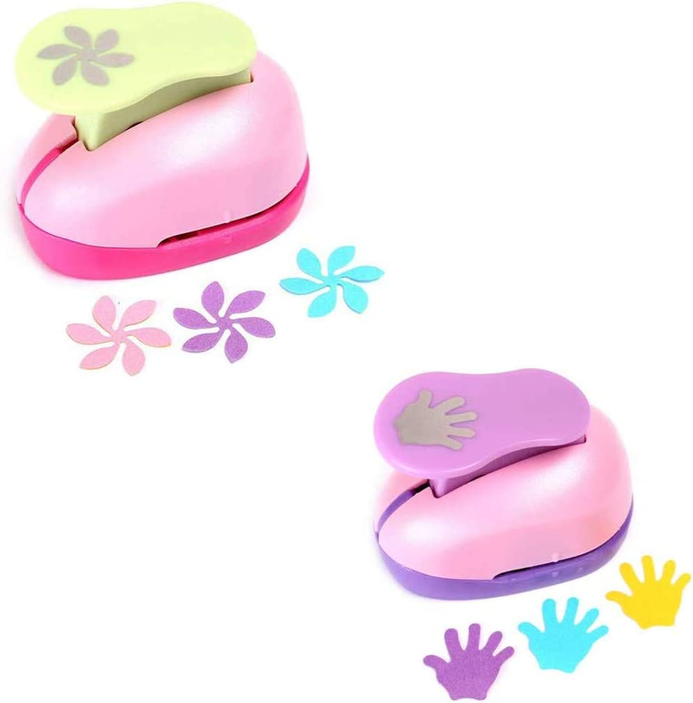 Butterfly 1 PC Crafts Punch 1-Inch Embossing Device for DIY Craft Paper Punches Random Color