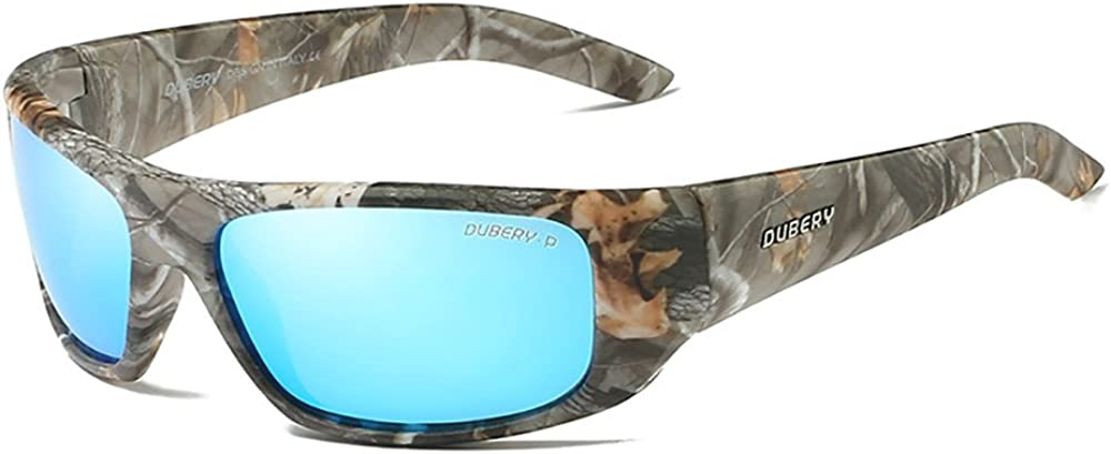 DUBERY Men Sport Polarized Sunglasses Outdoor Driving Fishing Glasses Eyewear US