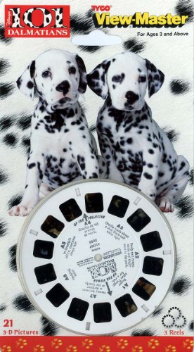 101 Dalmations View-master 3 Reel Set - 21 3d Images by View Master (Image #1)