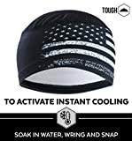 Sweat Wicking Helmet Liner/Cooling Skull Cap for