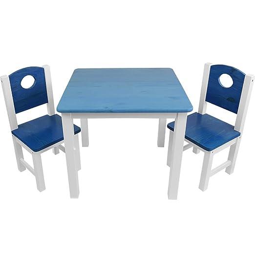 Kinder Sitzgruppe Kinderzimmer Set 1 Tisch Und 2 Stuhle Top