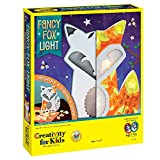 Creativity for Kids Fancy Fox Light Craft Kit - Makes 1 Light-Up Fox, Room Decor for Kids