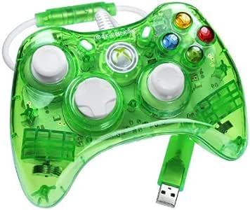 PDP - Mando Con Cable Rock Candy, Color Verde Fluorescente (Xbox ...