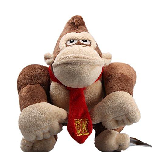 uiuoutoy Super Mario Bros. Donkey Kong Plush Toy Stuffed Animal Doll 9''