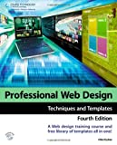 img - for Professional Web Design: Techniques and Templates book / textbook / text book