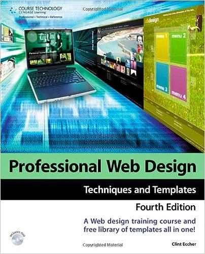 Professional Web Design: Techniques and Templates: Clint Eccher ...