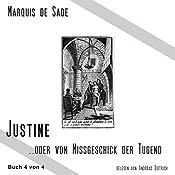Das Leiden der Justine 4   Marquis de Sade