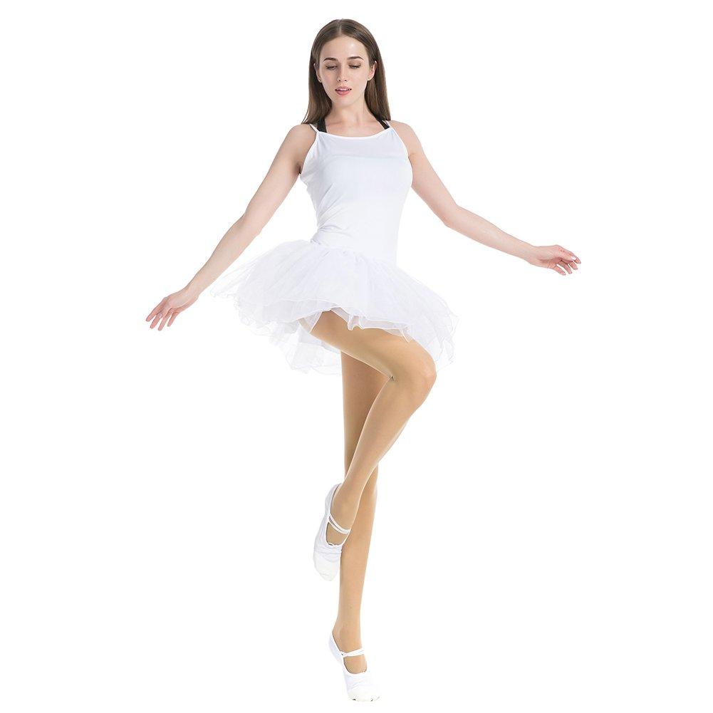 MANZI 1-3 Pairs Womens Girls Dance Tights Convertible Transition Ballet Tights 40D