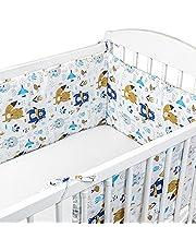Nestje babybed 70 x 140 omrandingen - baby-bedrand bednestje voor kinderbed bijzetbed roosterbed omranding