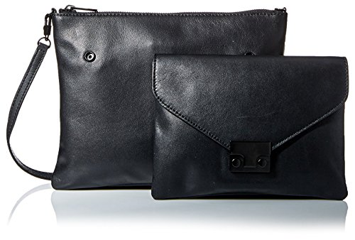Double Black Loeffler Women's Body Cross Pouch Randall Bag xyn7a