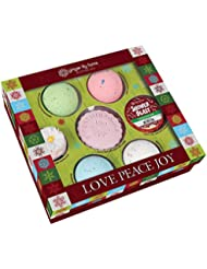 Ginger Lily Farm's Botanicals Love Peace Joy Bath Gift Set
