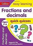 Fractions & Decimals Quick Quizzes: Ages 7-9