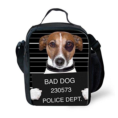 Poliéster Bad Para Portátil 1 Dog Con De Bolsa Black Small Diseño Niños Animales Zoológico Showudesigns Pug Almuerzo xZWqvUSI