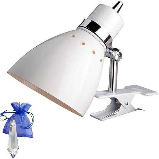 R22711102 Foco Color Blanco con casquillo E27 230 V Lámpara de lectura para bombilla LED y + Give Away: Amazon.es: Iluminación
