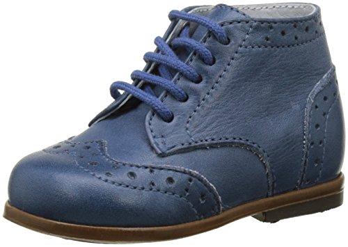 Little Mary Lord - Zapatos de primeros pasos Bebé-Niñas Azul (Sauvage Jeans)