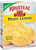 Krusteaz Bakery Style Meyer Lemon Cookie Mix, 15.25 Ounce Boxes (Pack of 12)