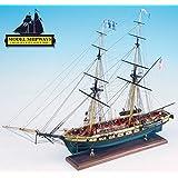 Niagara Battle Lake Erie 1:64 Scale Ship Model Plank-on-Bulkhead Kit MS2240 - Model Expo