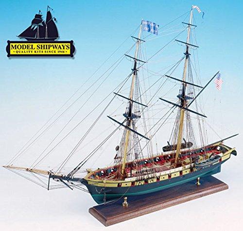 (Niagara Battle Lake Erie 1:64 Scale Ship Model Plank-on-Bulkhead Kit MS2240 - Model Expo)