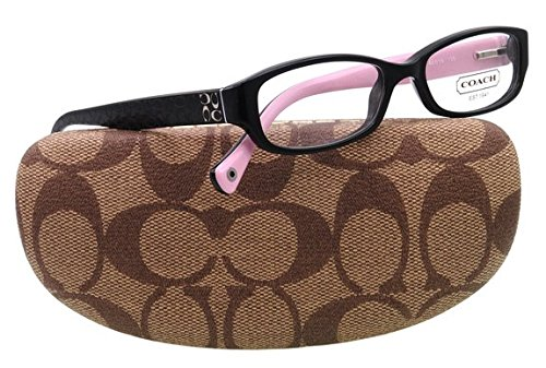 Coach Women's HC6001 Eyeglasses Black 50mm