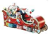 Babalu 3D Advent Calendar - Santa's Sleigh