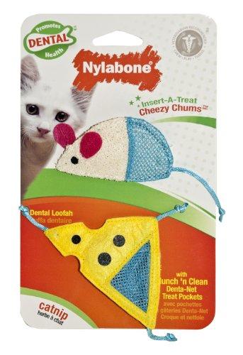 Cat Dental Insert-A-Treat Cheezy Chums Treat Holder, My Pet Supplies