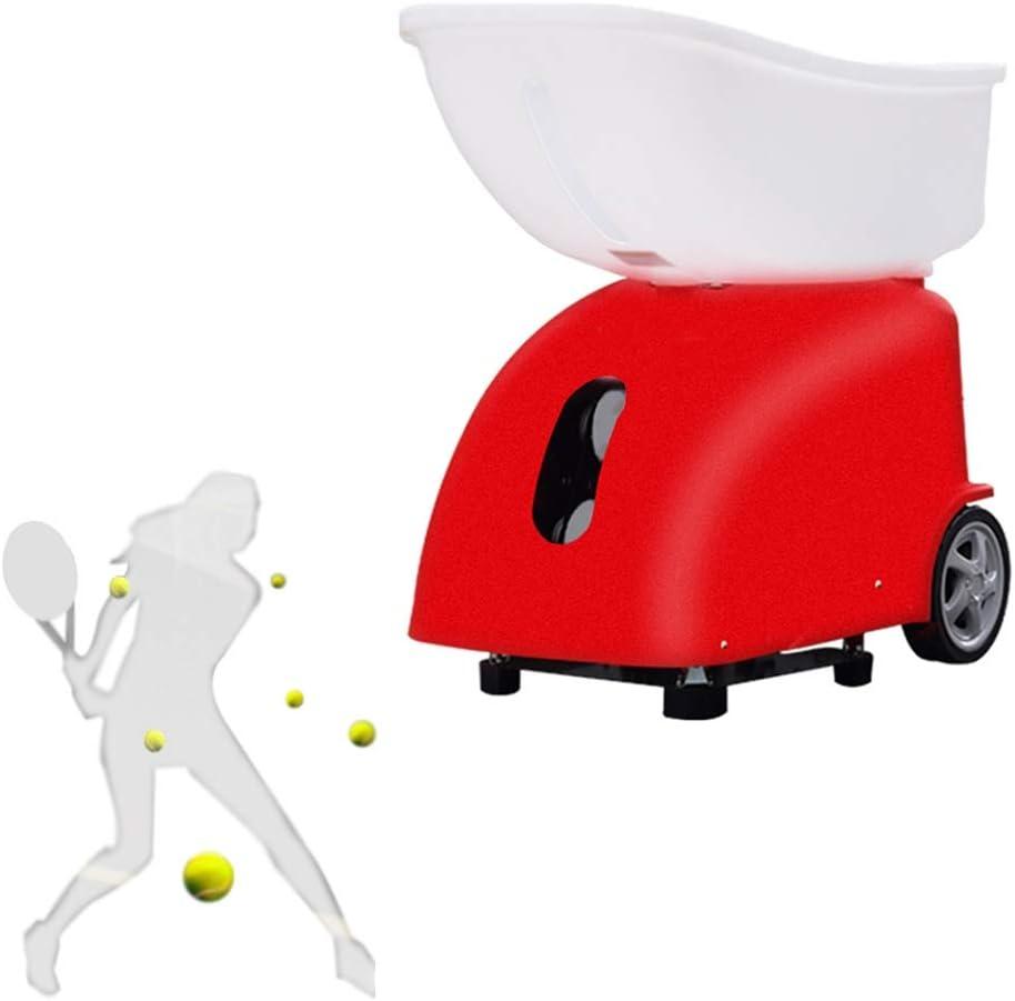 Stoge Máquina de Pelota de Tenis | Lanzador automático Inteligente Entrenador | Entrenador un Jugador Entrenador | 150 Piezas de Capacidad | Batería 10AH | Control Remoto Completo