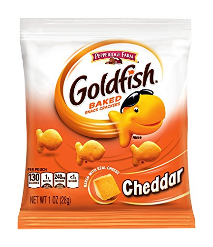 Large Product Image of Pepperidge Farm, Goldfish, Crackers, 37.6 oz, Variety Pack, Box, Snack Packs, 40-count
