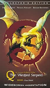 Q the Winged Serpent [VHS]