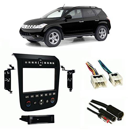 (Fits Nissan Murano 2003-2007 Multi DIN Stereo Harness Radio Install Dash Kit)