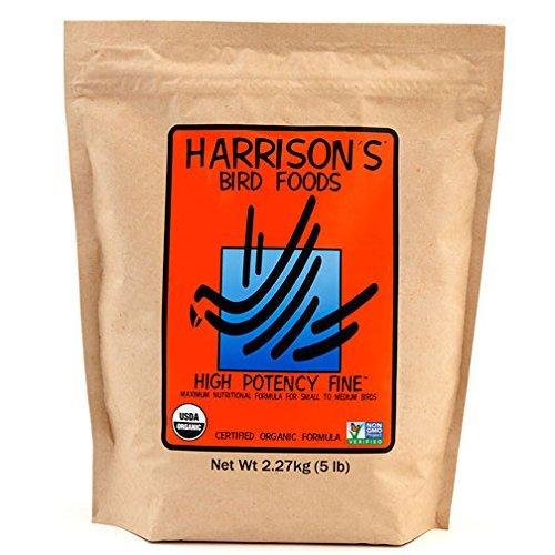 Harrisons High Potency Fine 5lb ... by Harrison's Bird Foods