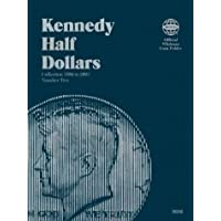 Kennedy Half Dollars Folder 1986-2003 (Official Whitman Coin Folder)