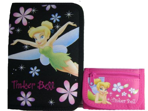 Disney Tinker Bell 12 Piece Stationary Kit and Tri-fold (Tinkerbell Stationary)