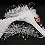 11 Wedding Hanger Set 9*Bridesmaid+1*Maid of honor+1* Flower girl Hanger