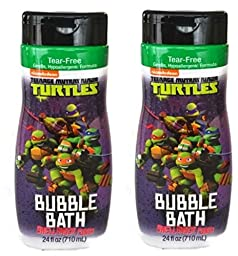 Teenage Mutant Ninja Turtles Bubble Bath Shellshock Punch 24 Oz (Pack Of 2)