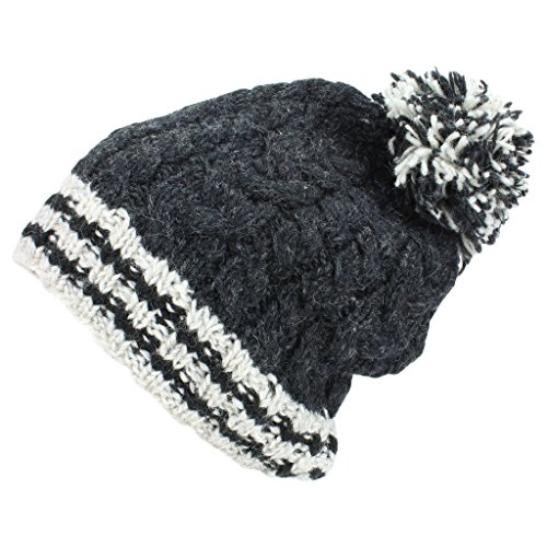 hombre punto gris Hats para Gorro de Loud oscuro RqWcvXtc