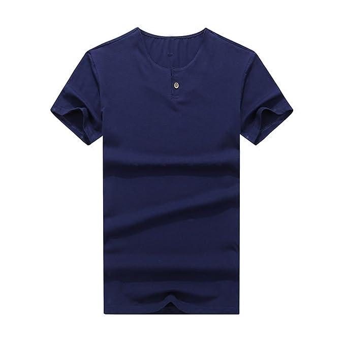 Camisas de Running para Hombre, BBestseller Hombre Casual Slim Camisetas Personalizadas Manga Corta Blusas Tops Hombre: Amazon.es: Ropa y accesorios