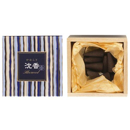 nippon kodo Kayuragi - Aloeswood 12 Cones, Japanese Quality Incense