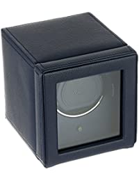 461117 Cub Single Watch Winder with Cover, Navy