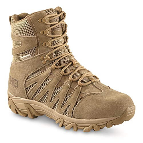 """HQ ISSUE Men's Canyon 8"""" Waterproof Tactical Hiking Boots"""