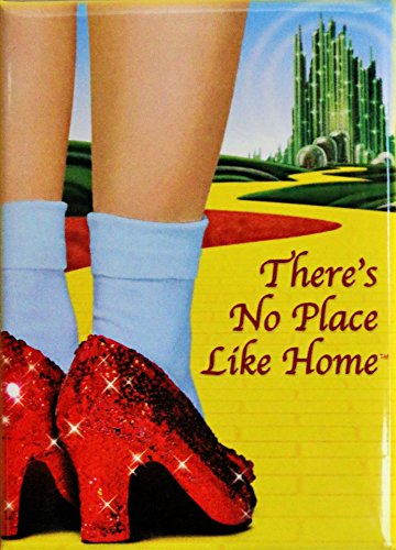 Wizard of Oz - Ruby Slippers Theres No P - Wizard Of Oz No Place Like Home Shopping Results