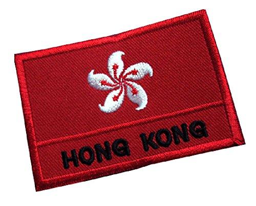 Hong Kong Hongkonger National Flag Sew on Patch Free Shipping