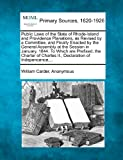 Public Laws of the State of Rhode-Island and Providence Planations, As Revised by a Committee, and Finally Enacted by the General Assembly at the Sess, William Carder, 1277092087