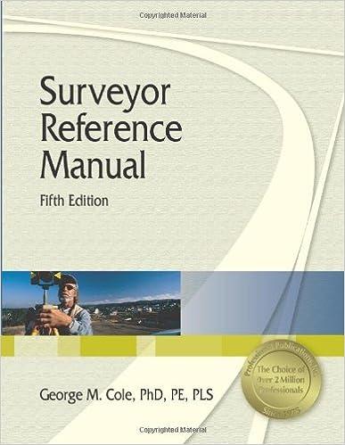 Surveyor Reference Manual, 5th Ed