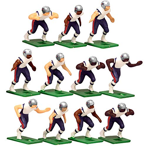 New England Patriots Away Jersey NFL Action Figure Set ()