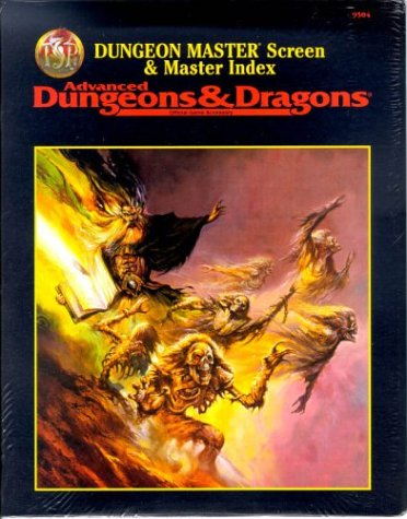 Dungeon Master Screen and Master Index (Inglese) Copertina flessibile – 31 dic 1995 Not Available Wizards of the Coast 0786903317 VI-0786903317