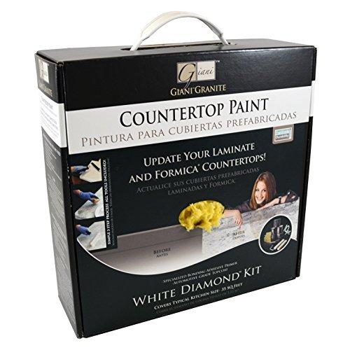 Giani(TM) Countertop Paint Kit, White Diamond by Giani Granite [並行輸入品] B018A39E8M