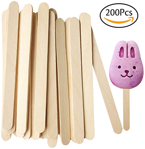 Korlon 200 Pcs Craft Sticks