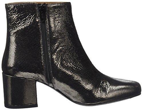 black F Satinado Black Pl Black 78337 SixtySeven Plomo Serraje Boots P Women's cerdo Sender cabra PxXS4